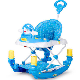 Harga BBH 3290-E 3 in 1 Baby Walker (Blue)