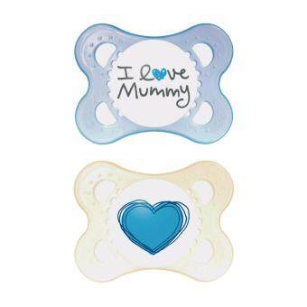 Harga MAM Original Love & Affection Pacifier - I Love Mummy (2 - 6m)