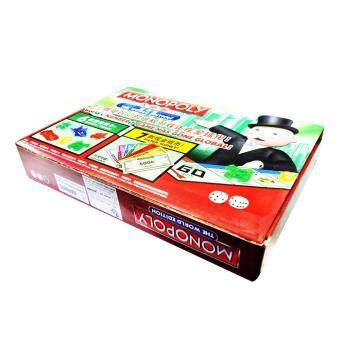 Harga Monopoly Property Trading Game - The World Edition (Bilingual)