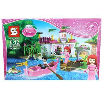Harga 322 Princess Ariel's Magical Kiss (265pcs)