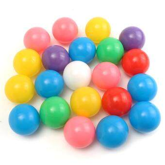 Harga 100Pcs 7cm Colorful Ball Fun Ball Soft Plastic Ocean Ball Baby Kid Toy Swim Toy