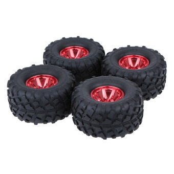 Harga 4Pcs/Set 1/10 Monster Truck Tire Tyres for Traxxas HSP Tamiya HPI Kyosho RC Model Car