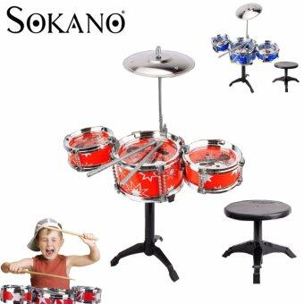 Harga SOKANO Mini Jazz Drum- Red