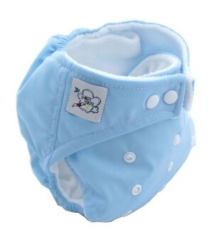 Harga Amart Baby Nappy Cloth Adjustable Diapers Soft Covers Diaper Blue