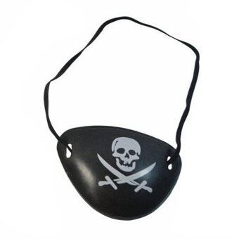 Harga 2PC Pirate Eye Patch Skull Crossbone Halloween Party Favor Costume Kids Toy
