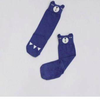 Harga Korean Stylish Bear High Cut Baby Socks