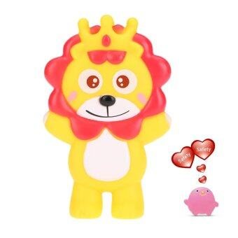 Harga Cute Squeaky Toy Sounding Toy Cartoon Lion Animal Bath Toy Soft Rubber for Baby Water Fun