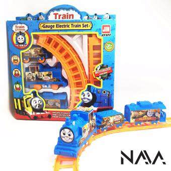 Harga NaVa Children Mini Thomas Fun Electric Train Track Set
