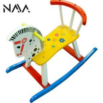 Harga NaVa DIY Children Wooden Riding Rocking Horse Pony (WHITE)