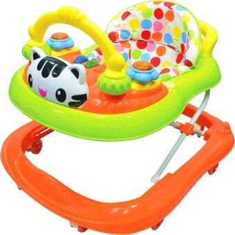 Harga BBH 839-1 Baby Walker With Music (Orange)