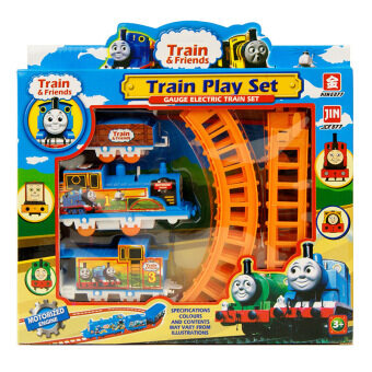 Harga For Thomas Train Children Toys Educational Electric Rail Train Thomas and Friends Mini Electric Train Set Track Toy Kids