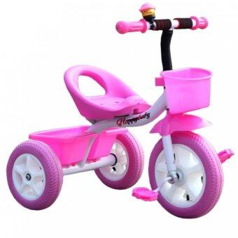 Harga SOKANO T003 Cutie Kid Tricycle- Pink