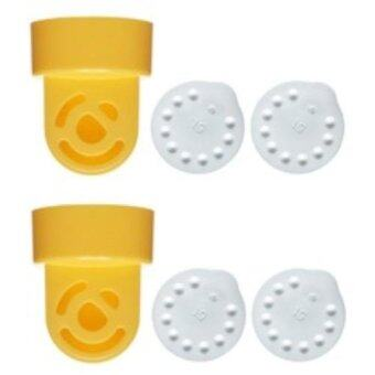 Harga 2 Valves and 4 Membranes for Medela Breastpumps