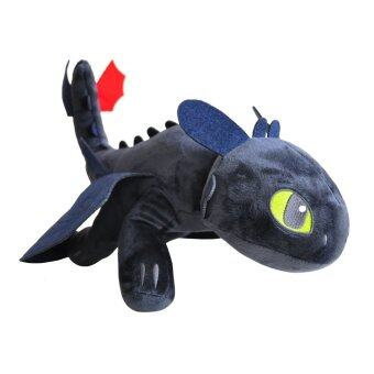 Harga How to Train Your Dragon- Original Toothless/Night Fury Soft Plush Toy (50cm)