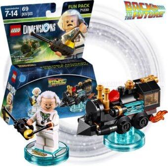 Harga LEGO Dimensions 71230 - Back to the Future Doc Brown Fun Pack