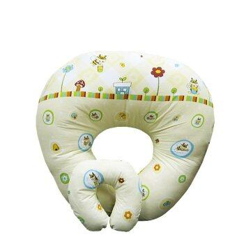 Harga Baby Nursing Pillow with zip (Bees) FREE Neck Supporter