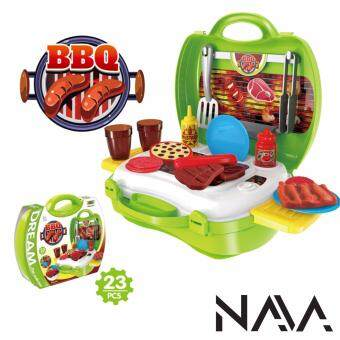 Harga NaVa Children Pretend Play Fun BBQ 23 PCS Educational Playset