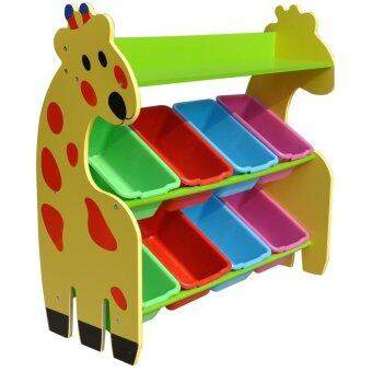 Harga Children Giraffe Storage Rack with 8 Boxes - Code: 3003