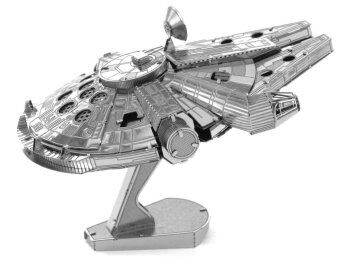 Harga Metallic Steel Nano 3D Jigsaw Puzzle Model No Glue Toy The Millennium Falcon