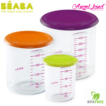 Harga BEABA Set of 3 Conservation Portions (120ml, 240ml & 420ml) - 912392