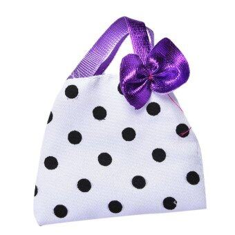 Harga Polka Dot Hangbag for Barbie Doll Kids Toy One-Piece Polka Dot Barbie Bags Toys