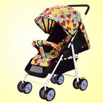 Harga Tough! YouLeBao Baby Stroller with Reclining Seat Super Light Weight Foldable (Tough, Strong, Reliable, Light Weight, Safe, High Quality)