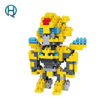 Harga Mini Nano Blocks Transformations LOZ Building Blocks Bumblebee Action Figure Diamond Blocks Compatible Legoelieds 9401
