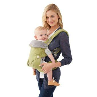 Harga Ergobaby Baby Korea Style Carrier Top Baby Sling Hipseat four style 360 baby baby sling cotton multifunction baby carrier air section- Green