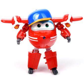 Harga Super Wings Season 2 Character Original authentic Transforming Planes Robot Toy (PIGU)
