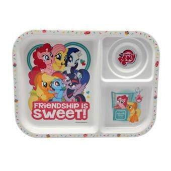 Harga My Little Pony Divided Plate - White Colour