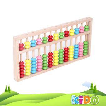 Harga Kido House - Early Learning Educational Wooden Toys 13 Stalls Beech Abacus