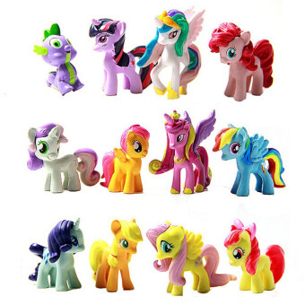 Harga Fancyqube My Little Pony Doll Toy Color Figure