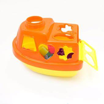 Harga Baby's Bath Fun Shape Sorter Boat Toy