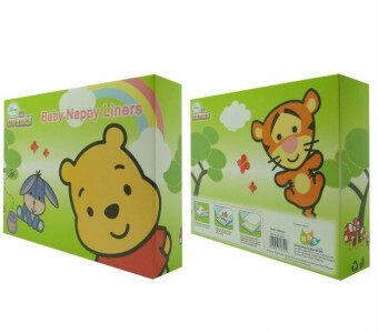 Harga Disney Cuties Baby Nappy Liners (100pcs)
