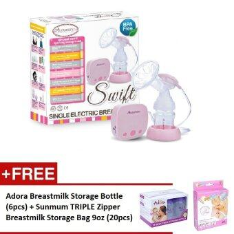 Harga Autumnz - SWIFT Single Electric Breastpump *FREE GIFT*