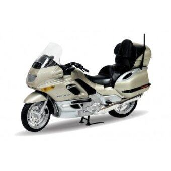 Harga Welly 1:18 BMW K1200 LT Motorcycle Diecast Model COLLECTION (Gold)