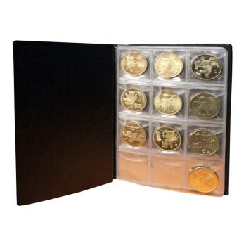 Harga Vanker 2x 120 Coin Holder Collection Storage Penny Money World Coin Pocket Album Book New (Intl)