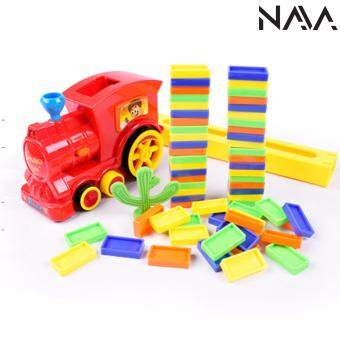 Harga NaVa Electrical Dominos Auto Stacking Musical Toy Train