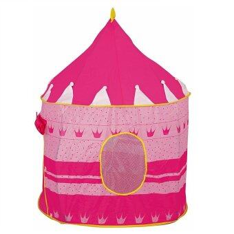 Harga EcoSport Portable Folding Kids Play Tent - Castle Cubby House (Pink)