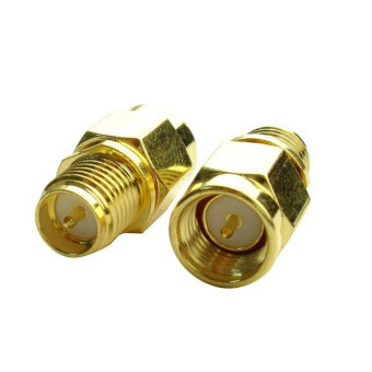 Harga SMA Male To RP-SMA Female RF Coaxial Adapter Connector