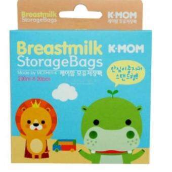 Harga K-MOM BREASTMILK STORAGE BAGS 200ML