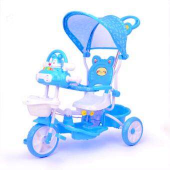 Harga BBH 231G Baby Tricycle (Blue)