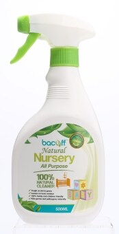 Harga Bacoff Natural Nursery All Purpose Cleaner 500ml x 2 (Value Pack)