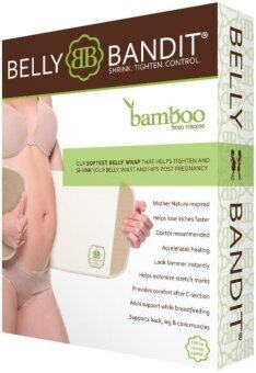 Harga Belly Bandit Bamboo Postpartum Belly Wrap - Natural (S)