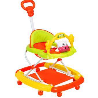 Harga BBH 949B Rocking System Baby Walker(Orange)