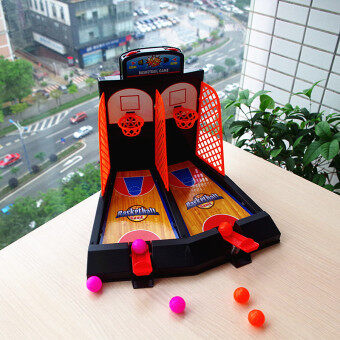 Harga Indoor desktop game Parent and Child interactive toys basketball machine