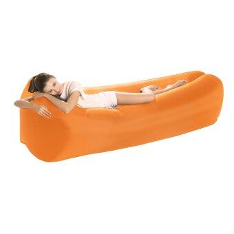 Inflatable lounger portable Camp seat, lazy hangout couch