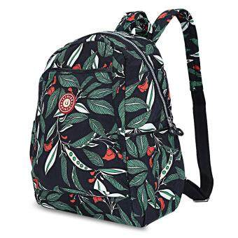 Insular Waterproof Printed Maternity Backpack Baby Diaper Bag withTrailer Straps - 3