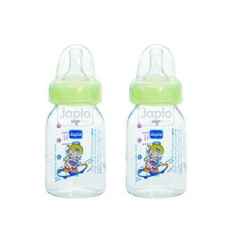 Harga Japlo Round Feeding Bottle 120ml (Twin Packs) - 2 PCS in 1