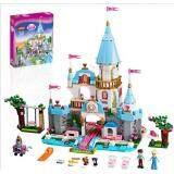 JIEGO JG305 Cinderella Princess Series Building Blocks Castle 689pcs